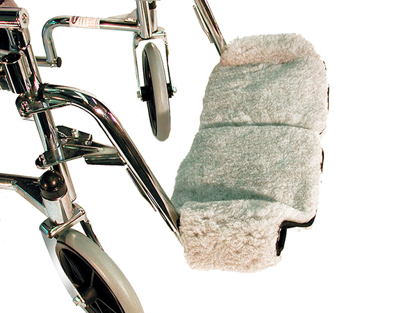 Deluxe Foot Plate Covers (Wheelchair)