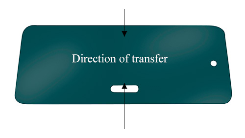 Patient Transfer Board (PTB) Single Hand Hold